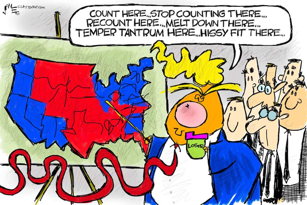 Cartoon: Counting hissy fits