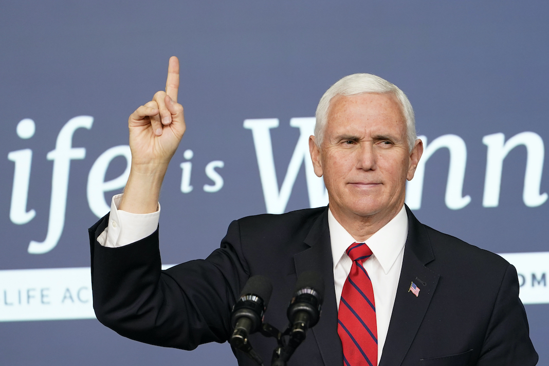 Mike Pence 'Life is Winning'