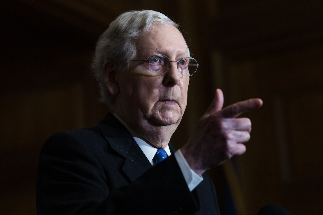 Senate Majority Leader Mitch McConnell,