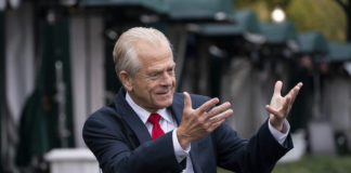 Trump White House trade adviser Peter Navarro