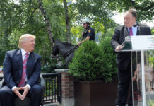 Donald Trump and John Catsimatidis