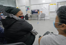 Immigrant workers in Brooklyn watch Biden inauguration