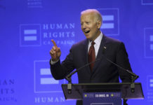 Joe Biden at Human Rights Campaign event