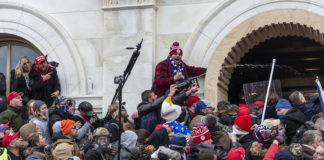 Pro-Trump riot at Capitol Jan. 6, 2020