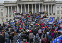 Rioters at US Capitol Jan. 6, 2021