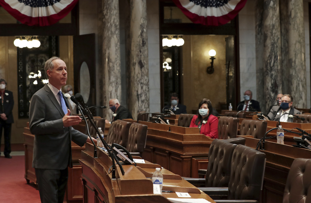 Wisconsin Assembly Speaker Robin Vos, Republican