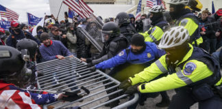 Capitol insurrection, racism, riots, police