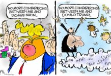 Cartoon: Trumping Nixon