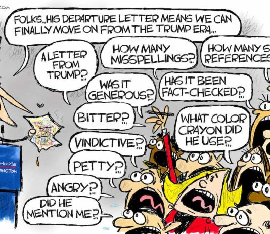 Cartoon: Letters from Mar-a-Lago