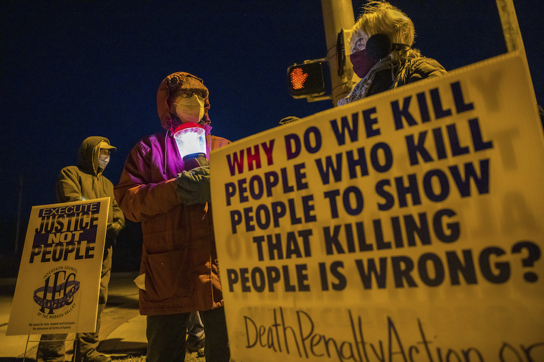 Protest against the death penalty
