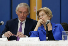 Ed Markey and Elizabeth Warren