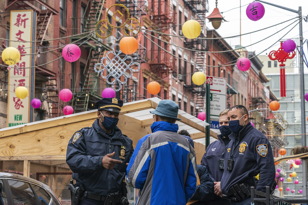 NYPD massage parlor shootings