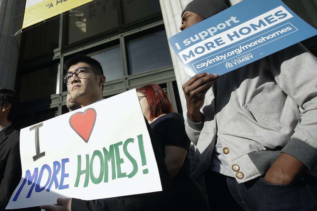 Protest for more housing