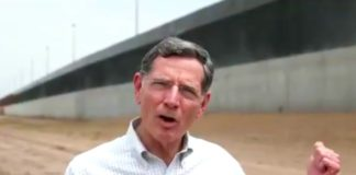 John Barrasso, border wall