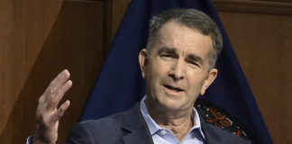 Virginia Democratic Gov. Ralph Northam