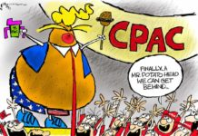 Cartoon: CPAC cult