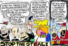 Cartoon: Uppity hypocrites