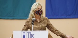 First lady Jill Biden