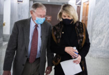 Senate Republicans Jim Inhofe and Cynthia Lummis