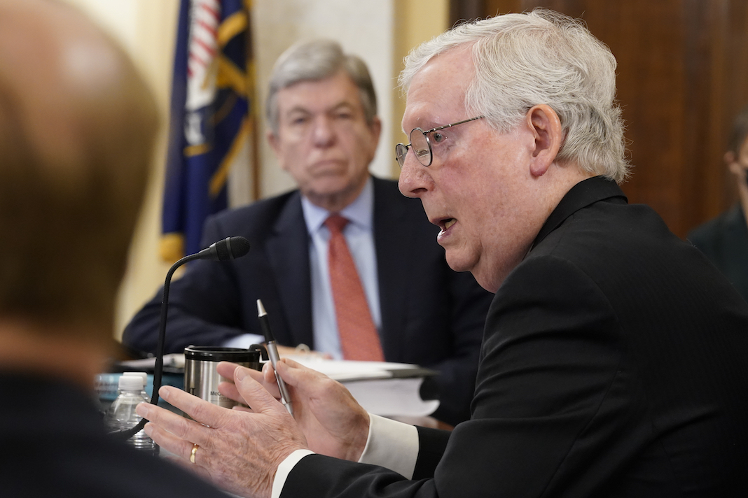 Mitch McConnell and Roy Blunt
