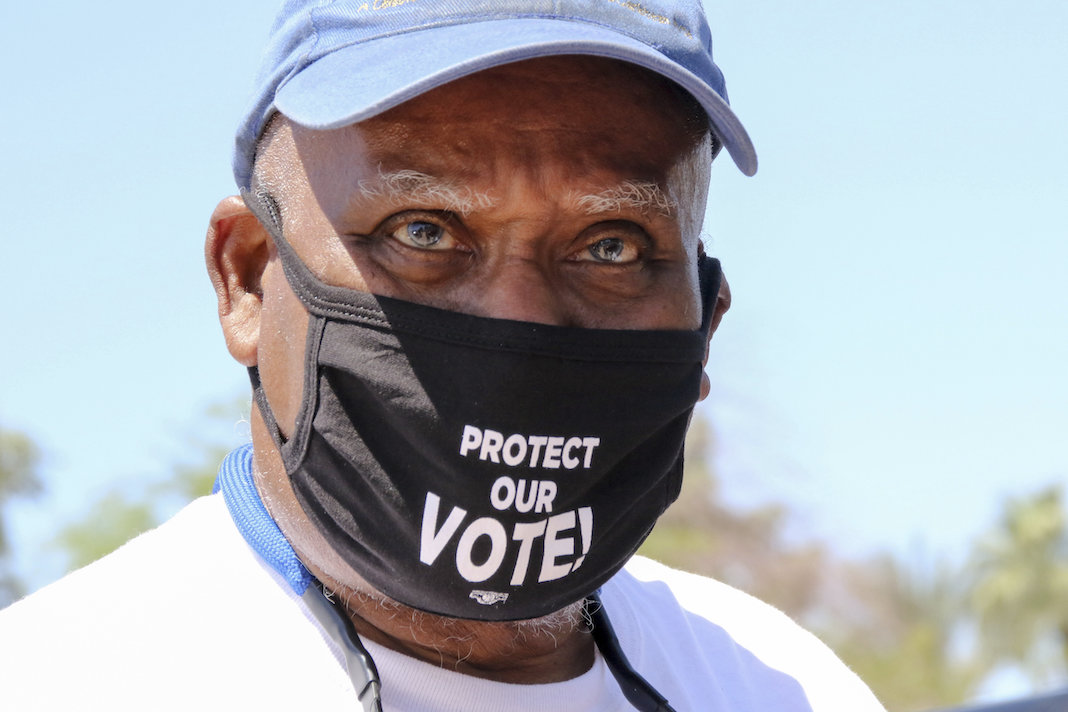 Voting rights advocate