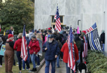 Pro-Trump rally in Salem, OR