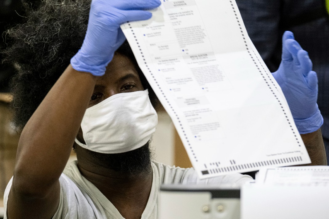 Georgia election worker, 2020 election
