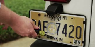 Mississippi license plate lawsuit, Tate Reeves, In God We Trust